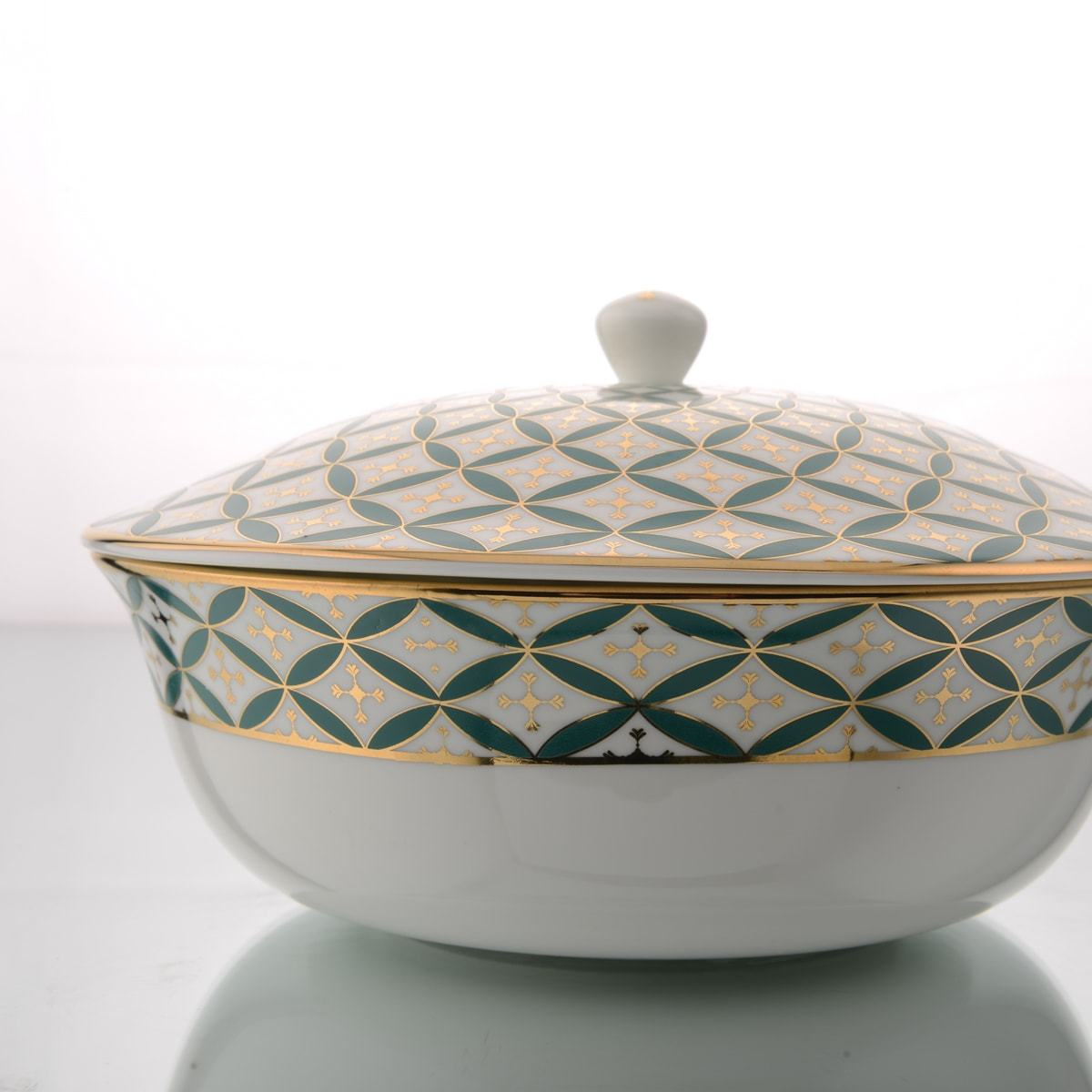 Buy Jyamiti Serving Bowl With Lid 2 Portion By Kaunteya Home Artisan