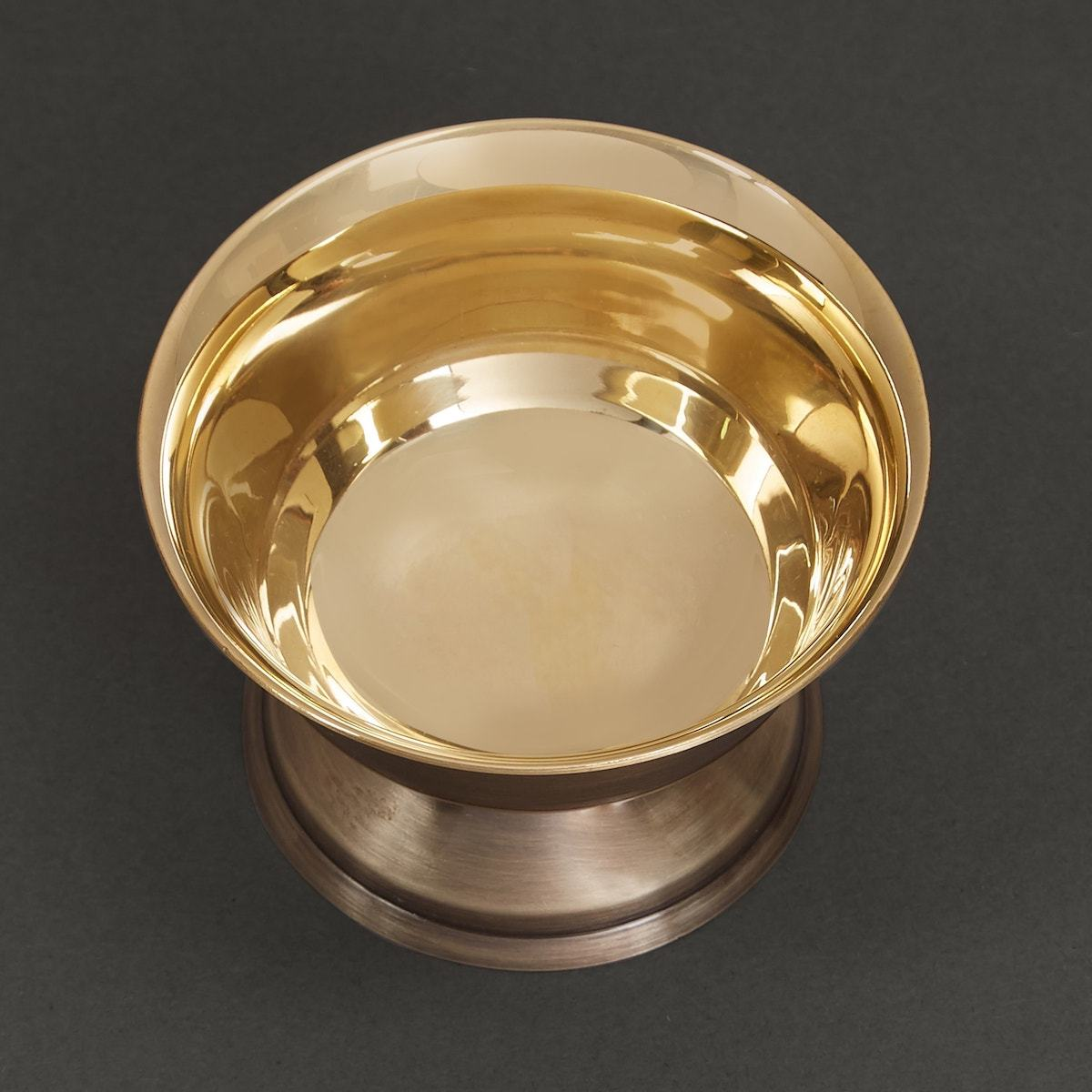 Shiny Gold Brass Dessert Bowl by Ritu Kumar Home - Home Artisan