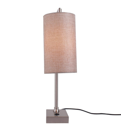 Perry Beige Linen Shade Lamp - Home Artisan
