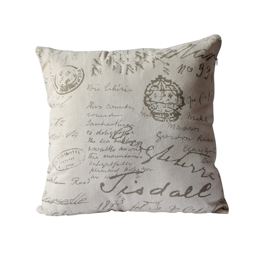 Latimer French Script Cushion Cover