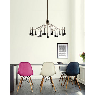 Nicoline Chandelier (Black) - Home Artisan