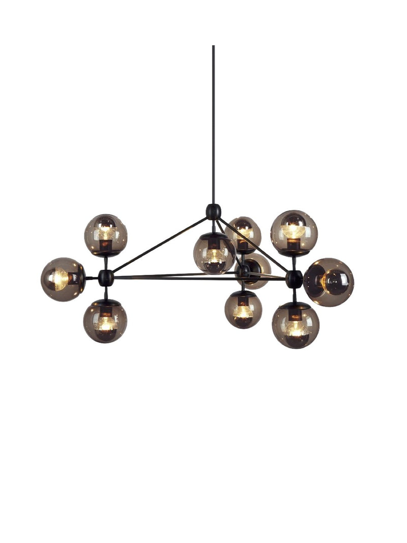 Charles 10-Lights Sputnik Chandelier - Home Artisan