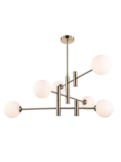 Althea Rod and Globe Chandelier