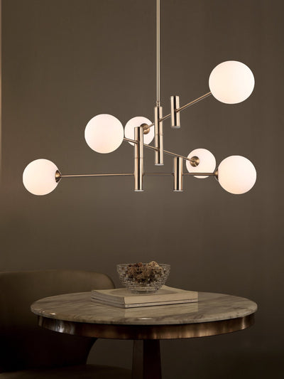 Althea Rod and Globe Chandelier - Home Artisan