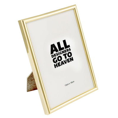 Minimal Golden Photo Frame (5x7) - Home Artisan_3
