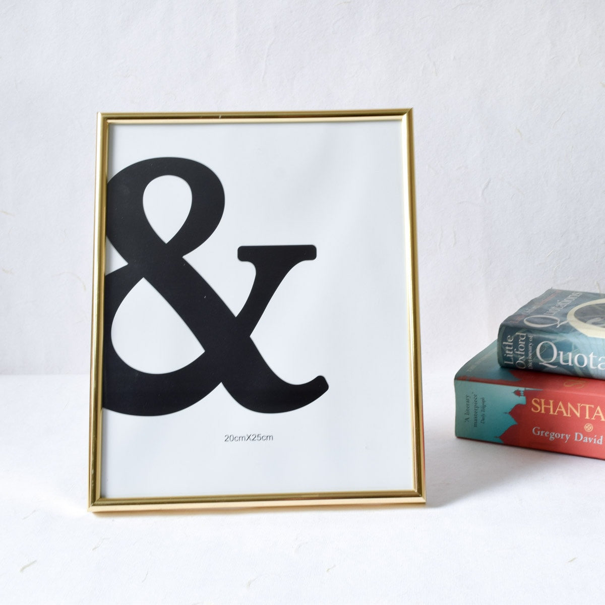 Minimal Golden Photo Frame (8x10) - Home Artisan_1