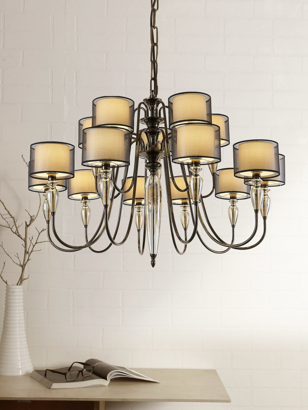 Hayes 10-Light Lamp - Home Artisan