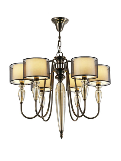 Hayes 6-Light Lamp - Home Artisan