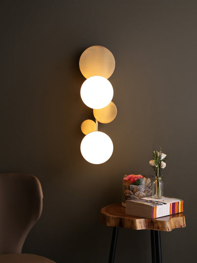 Cleon Deux Light Wall Lamp - Home Artisan