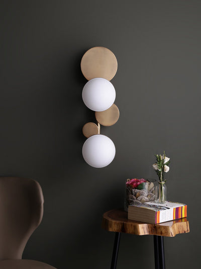 Cleon Deux Light Wall Lamp