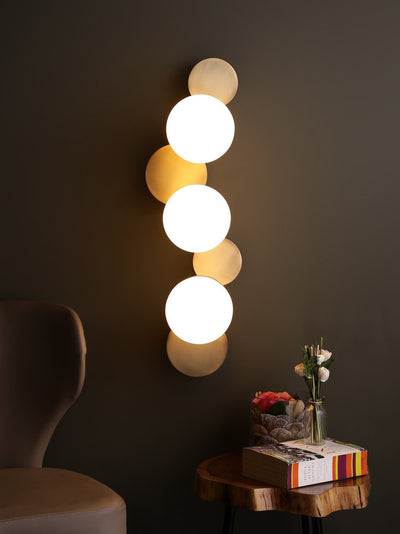Cleon Trois Light Wall Lamp - Home Artisan