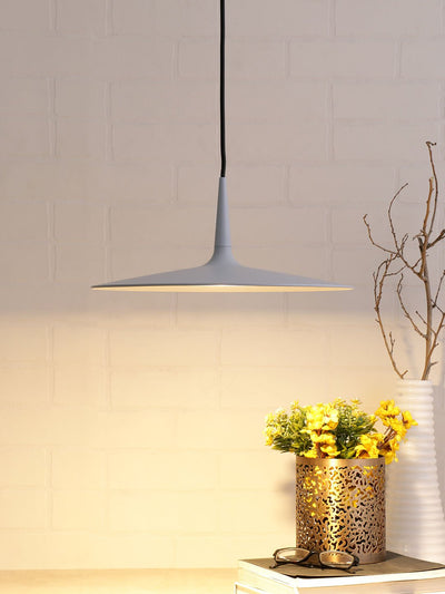 Marcus Grey Disc Lamp - Home Artisan