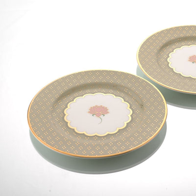 Pichwai Side Plate (Set of 2) by Kaunteya - Home Artisan