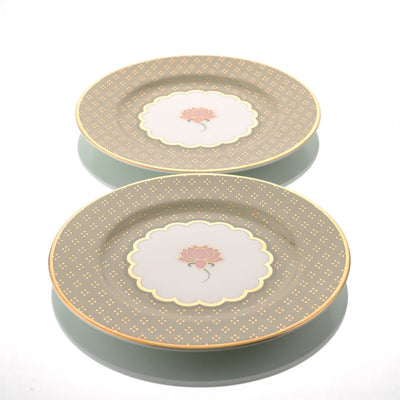 Pichwai Side Plate (Set of 2) by Kaunteya