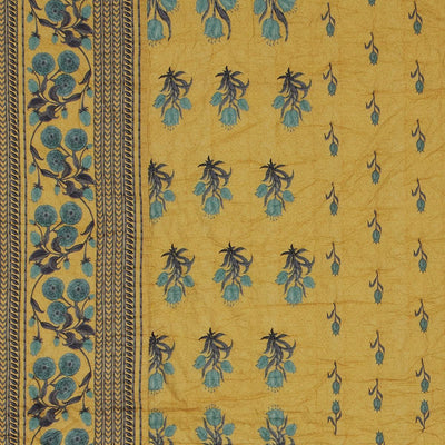 Yellow Jal Mahal Quilt by Ritu Kumar Home