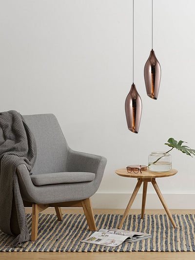 Audie Copper Pendant Lamp - Home Artisan