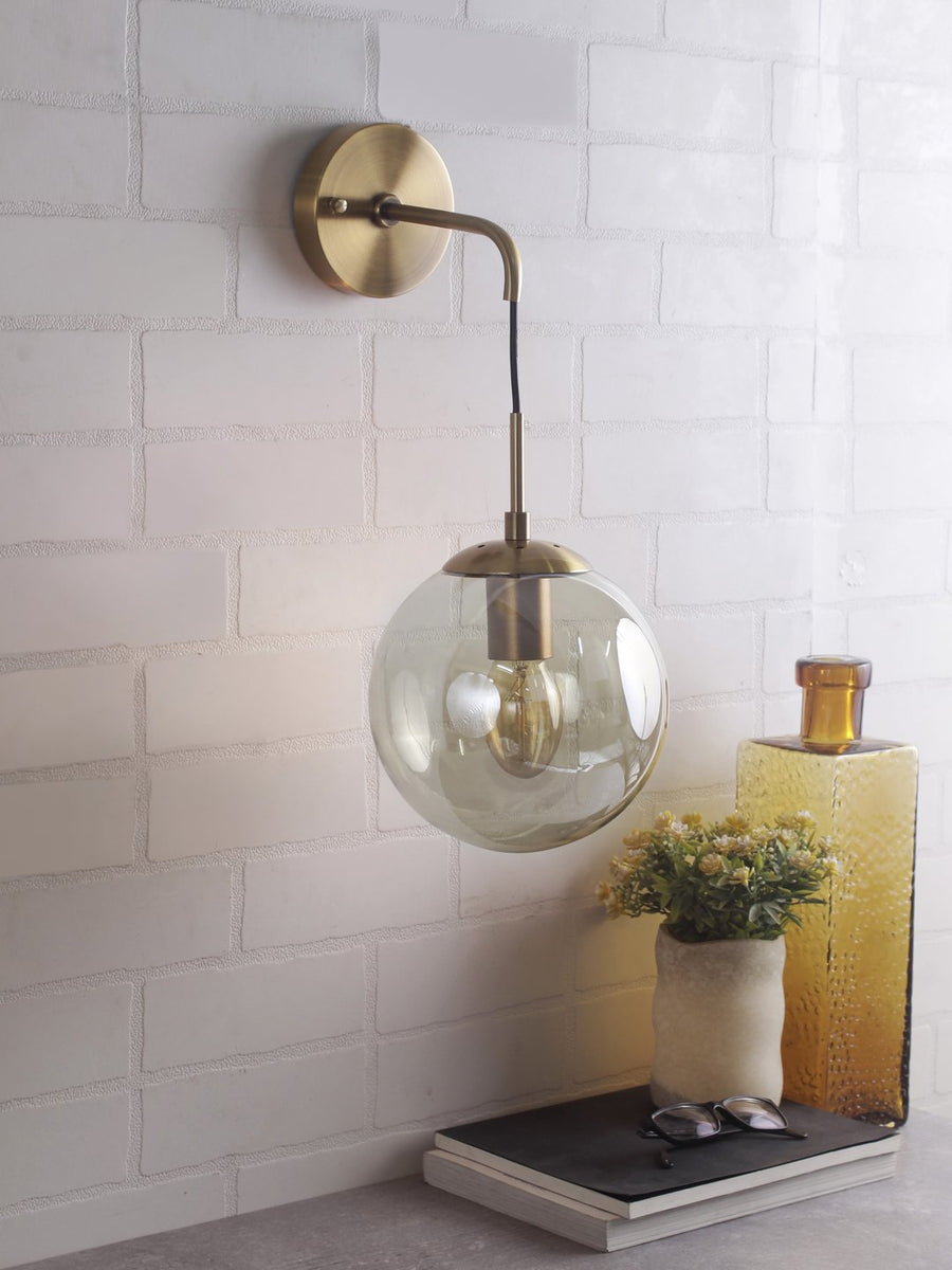Kevin Orb Wall Light