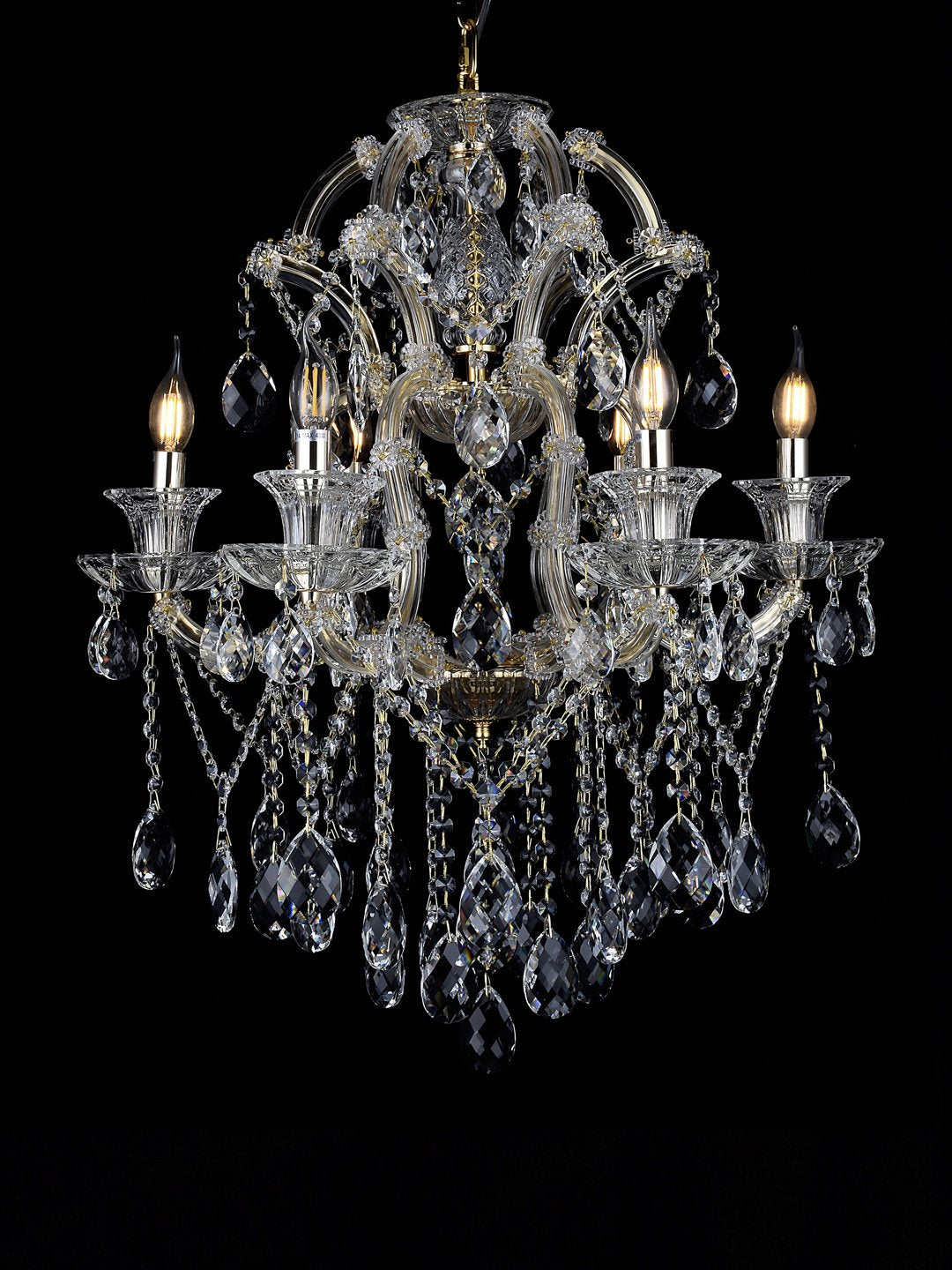 Florence 6-Lamp Chandelier - Home Artisan