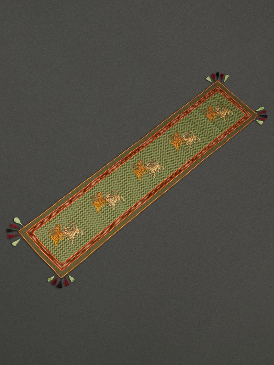 Green Baagh Runner by Ritu Kumar Home - Home Artisan