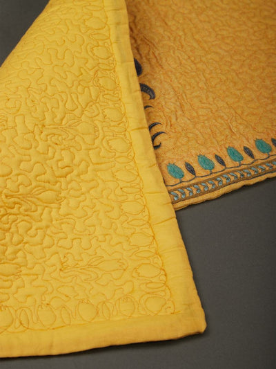 Yellow Jal Mahal Runner by Ritu Kumar Home