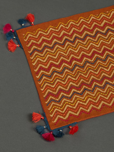 Rust Banki Runner by Ritu Kumar Home