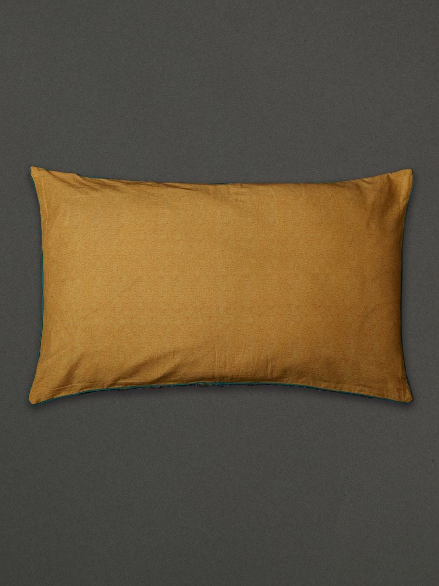 Yellow Jal Mahal Pillow Sham With Filler by Ritu Kumar Home - Home Artisan