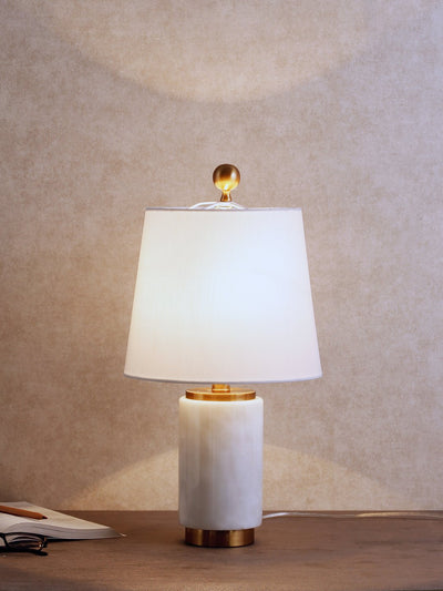 Corinne Marble Table Lamp - Home Artisan