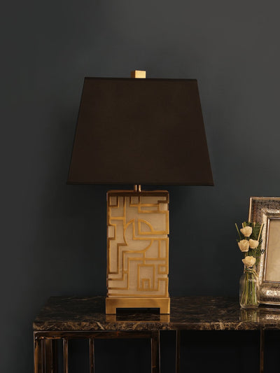 Kendrick Marble Table Lamp - Home Artisan