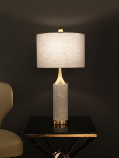 Helton Marble Table Lamp - Home Artisan