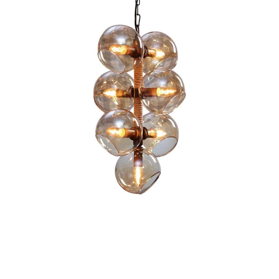 Taylor Transparent Glass Pendant Lamp (Short)