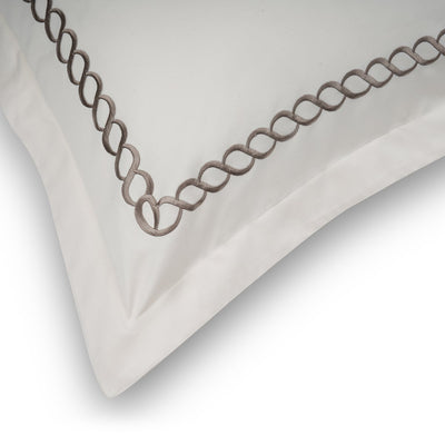 Petals Cream Cotton Sateen Bed Sheet by Veda Homes