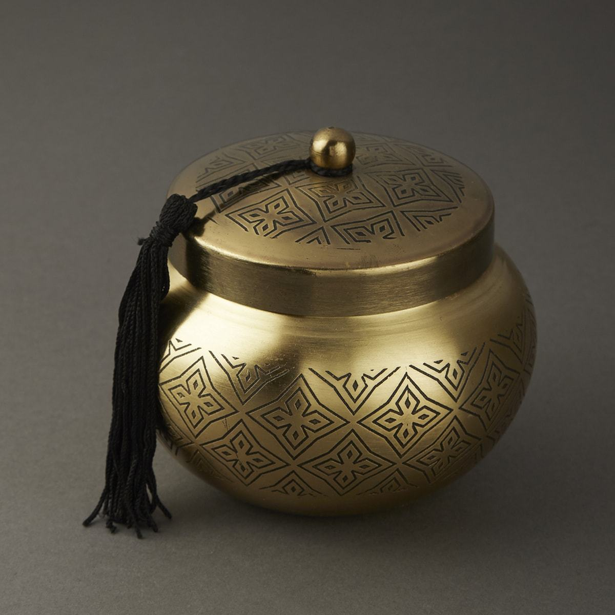 Brass Awadh Votive by Ritu Kumar Home