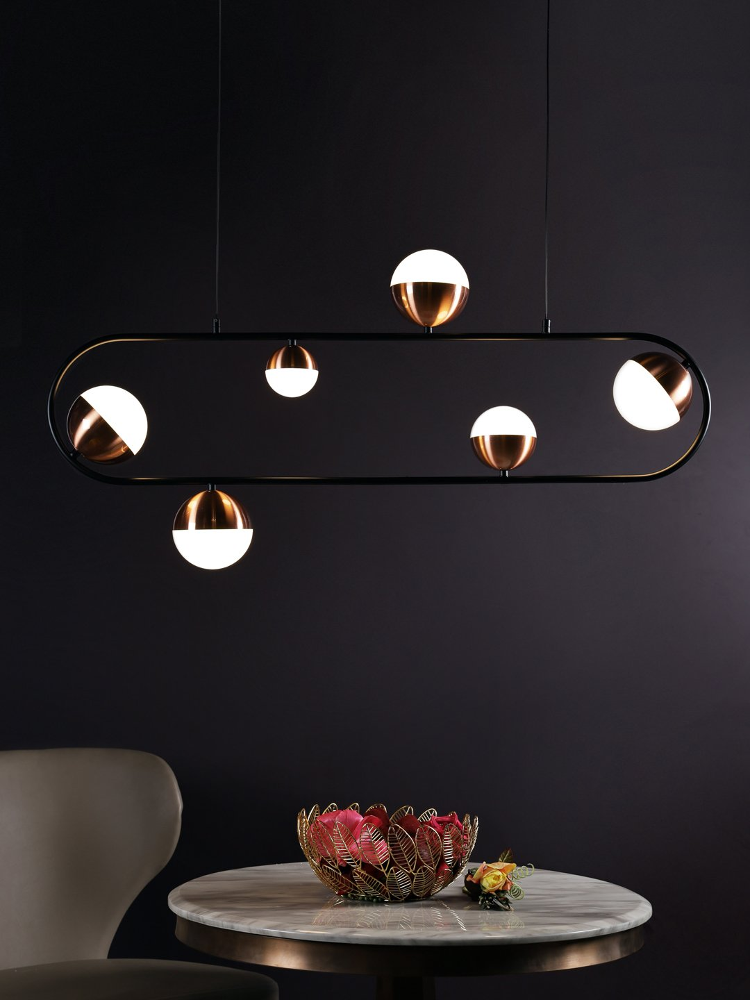 Colbie 6-Lamp Chandelier - Home Artisan