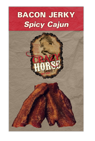 Spicy Bacon Jerky