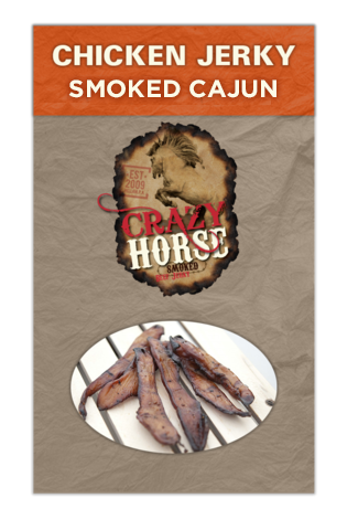 Smoked Cajun Chicken Jerky