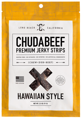 Hawaiian Beef Jerky Strips