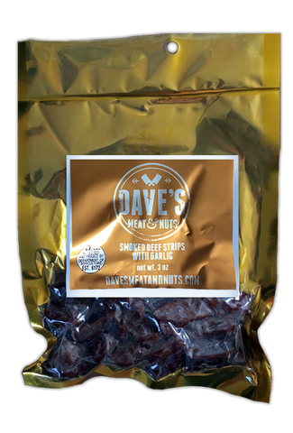 Garlic Smoked Beef Moist Beef Jerky