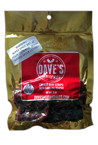 Carolina Reaper Moist Beef Jerky
