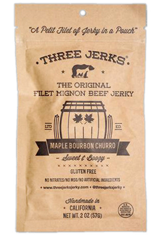 Maple Bourbon Churro Filet Mignon Beef Jerky