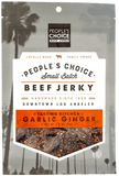 Garlic Ginger Beef Jerky