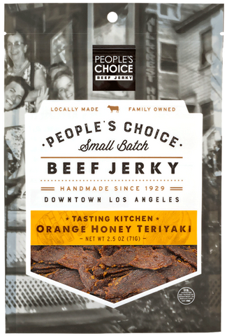 Orange Honey Teriyaki Beef Jerky