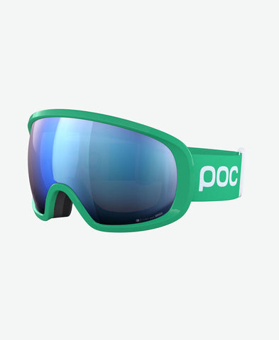 POC FOVEA  CLARITY COMP GREEN (EXTRA LENS IN THE BOX)