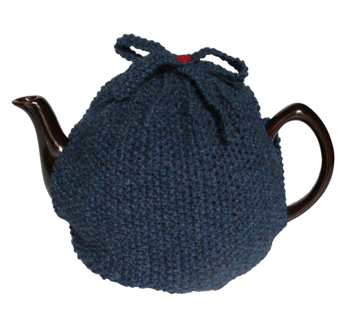 Hand Knit Wool Tea Cosy for 10 Cup Pot