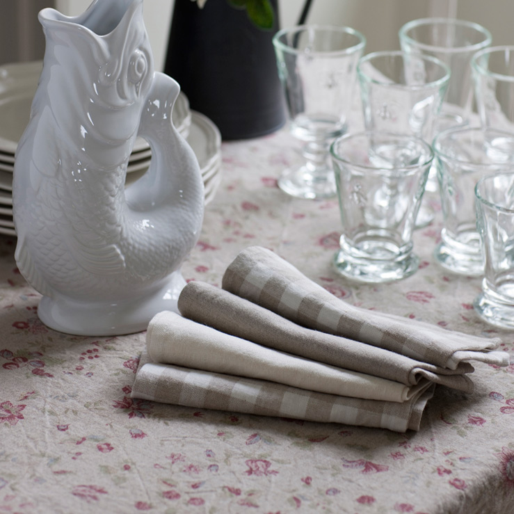 Rustic Washed Table Linen