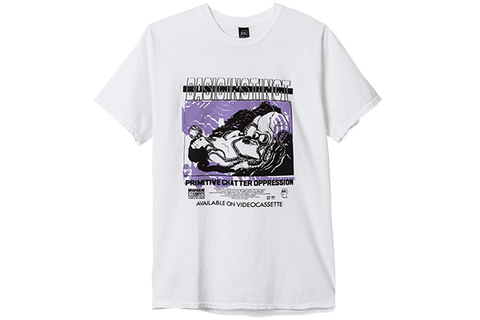BD BASIC INSTINCT TEE- WHITE