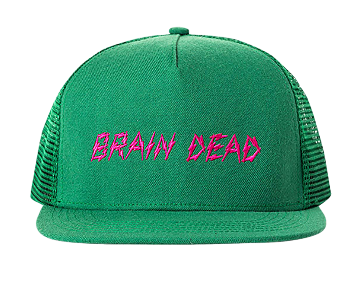 BD BOLT MESH HAT - GREEN