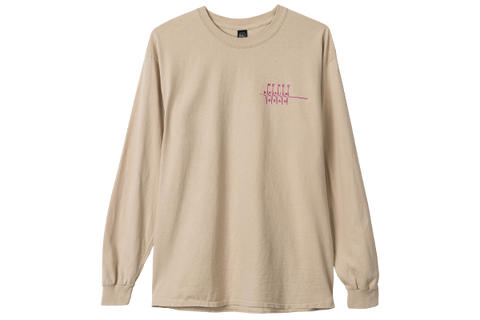 BD BOTTOMS UP LS TEE - KHAKI