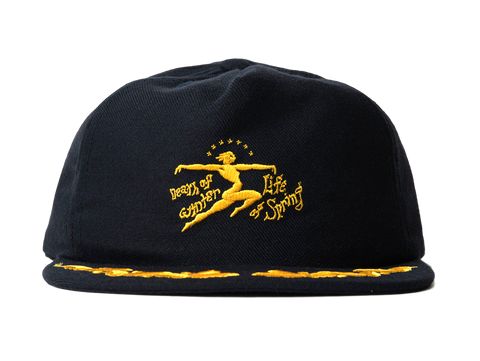 BD DEATH OF LIFE HAT - NAVY