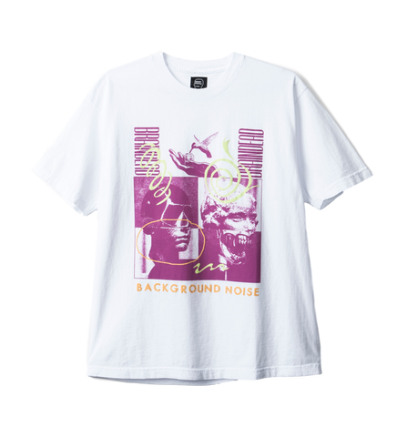 BD Background Noise SS Tee - WHITE