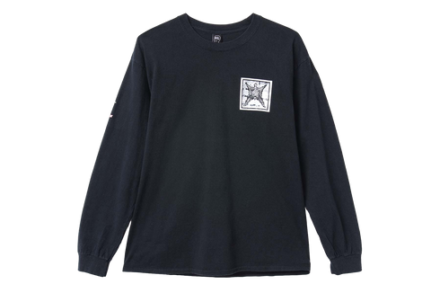 BD SUB DOM L/S TEE - FADED BLACK